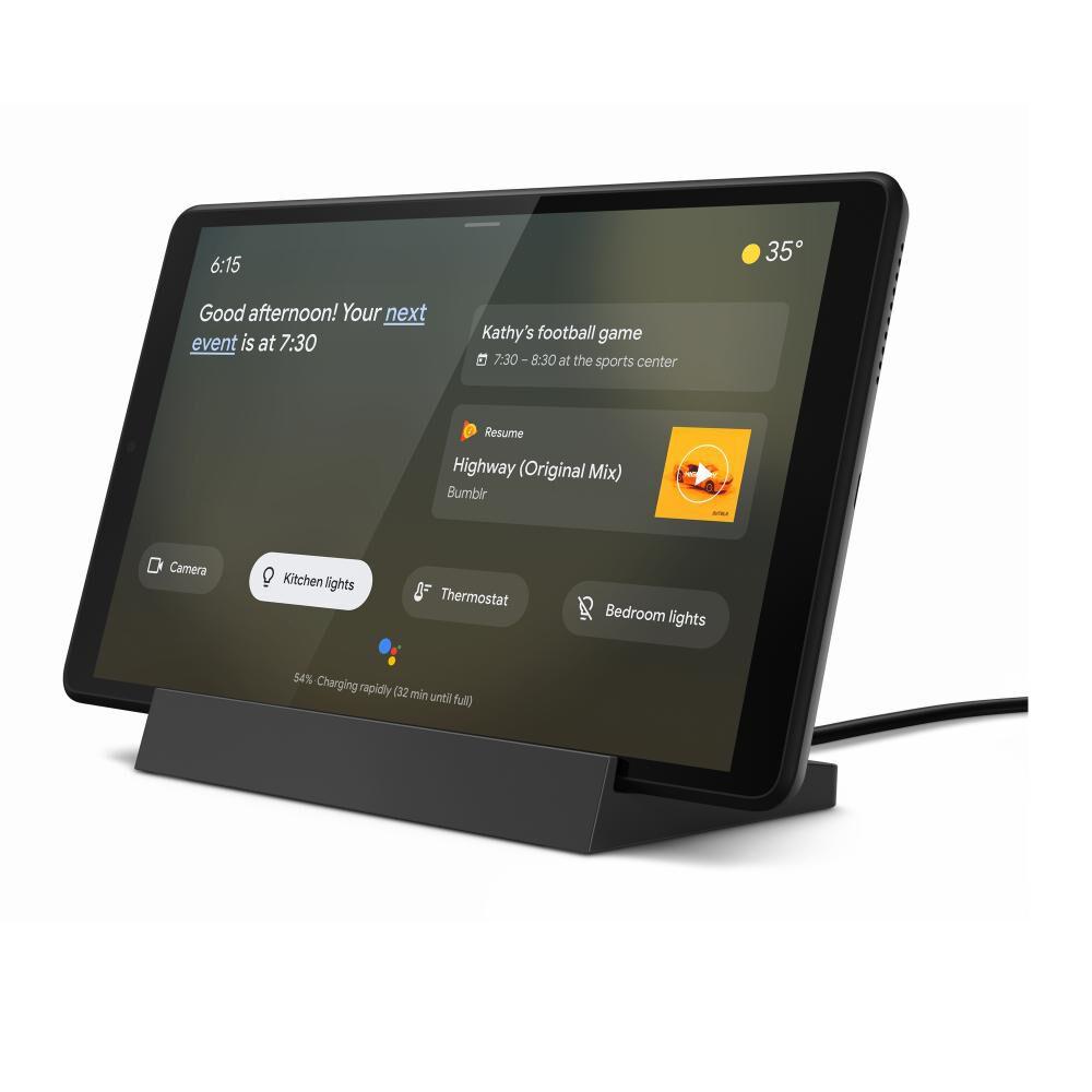 "Tablet Lenovo Smart Tab M8 + Base / Iron Gris (metal) / 2 Gb Ram / 8"" Hd image number 3.0"
