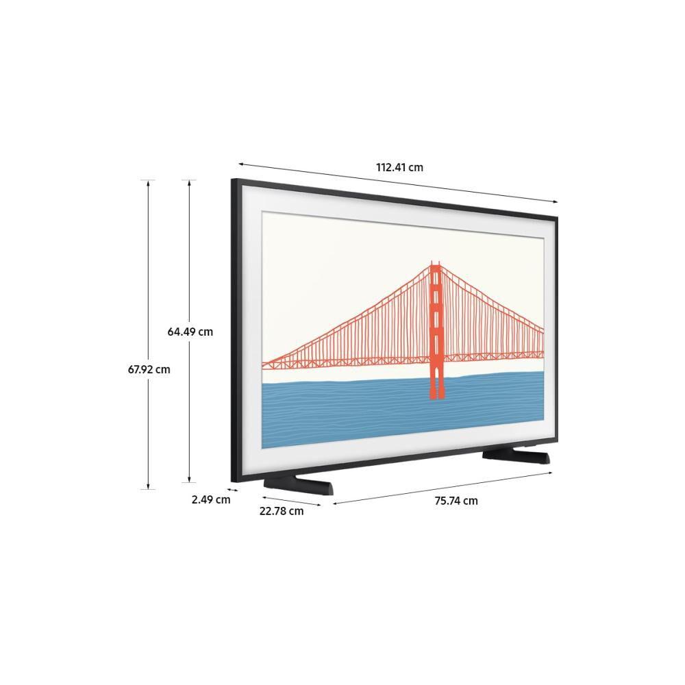 """Qled Samsung The Frame / 50 """" / Ultra Hd / 4k / Smart Tv 2021 image number 4.0"""