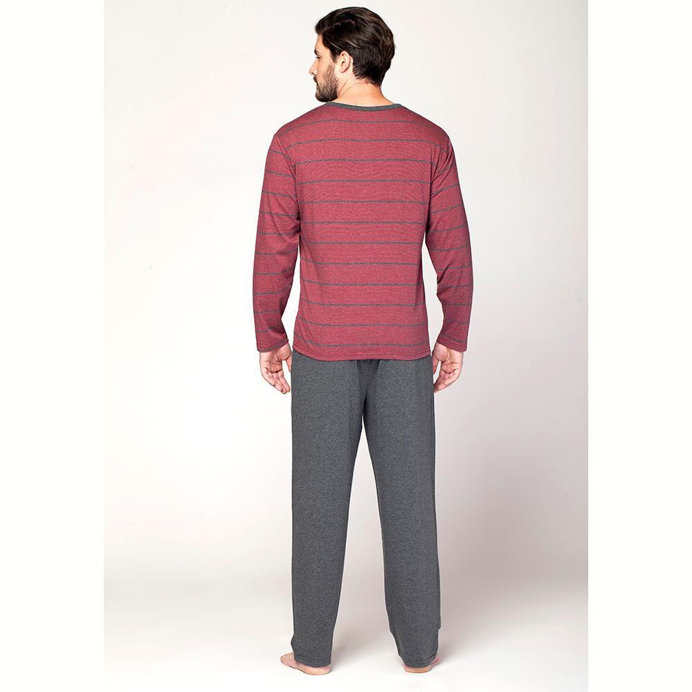 Pijama Largo Hombre Kayser / 2 Piezas image number 2.0