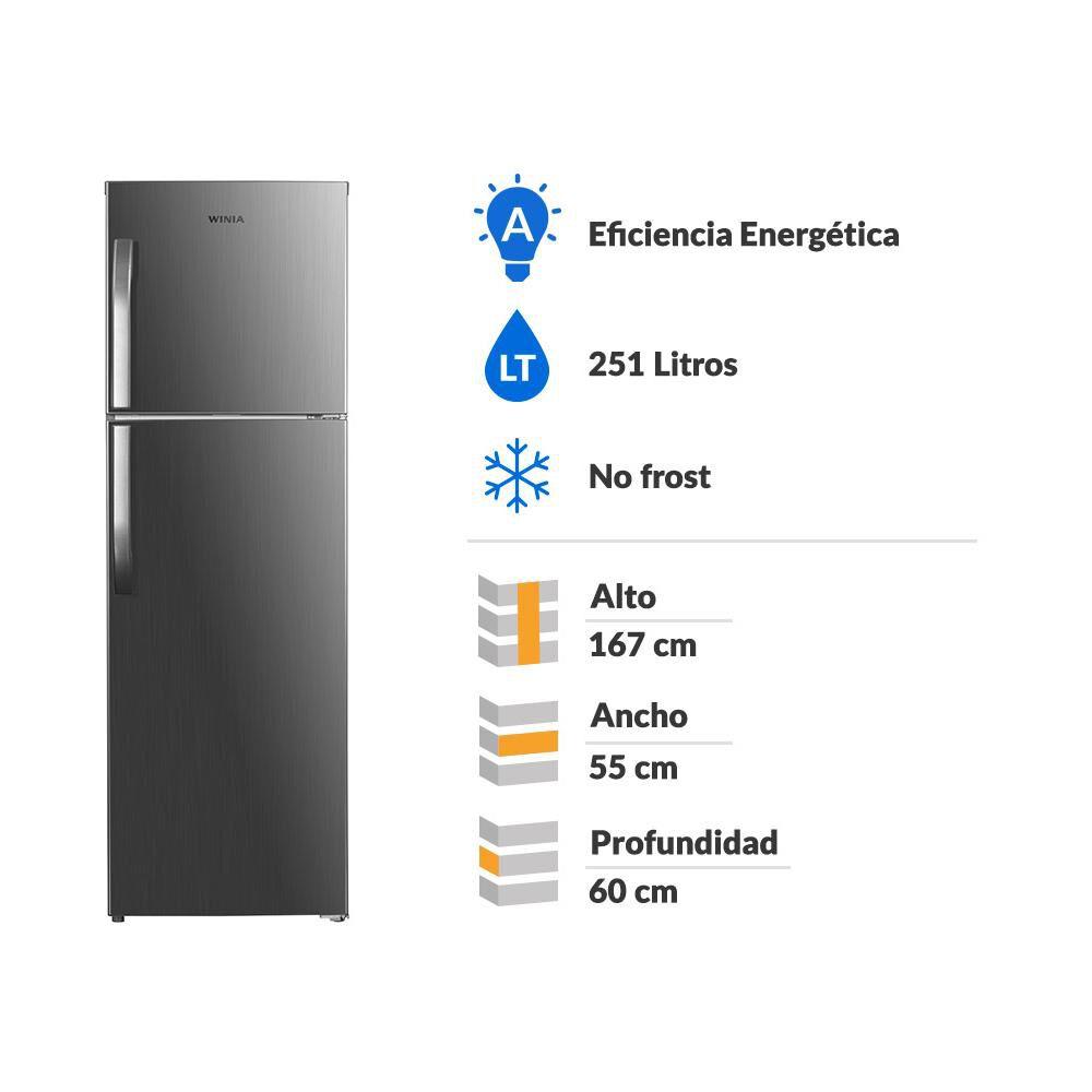 Refrigerador Top Frezzer Winia TMF FRT-270 / No Frost / 251 Litros image number 1.0