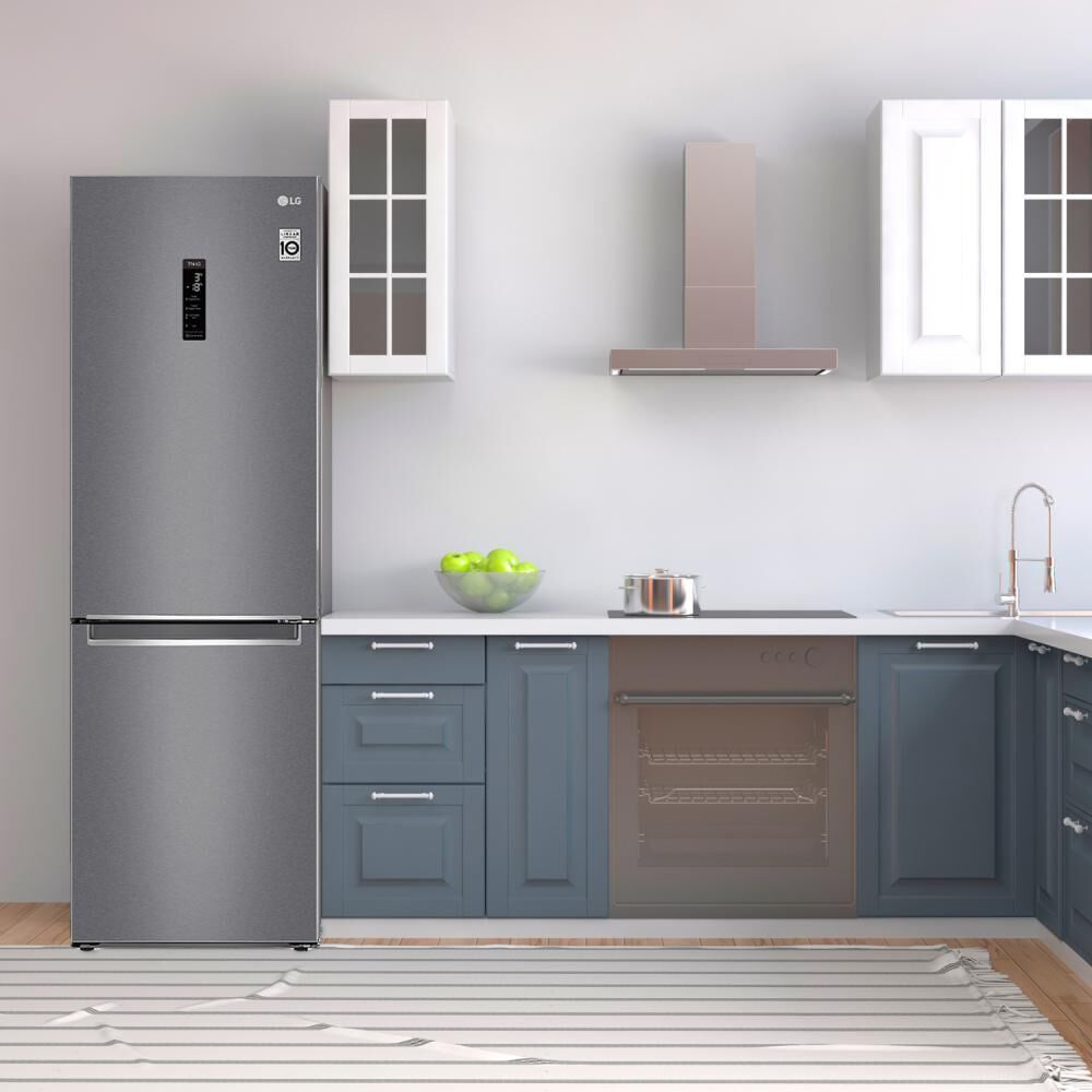Refrigerador Bottom Freezer LG GB37MPD / No Frost / 341 Litros image number 8.0