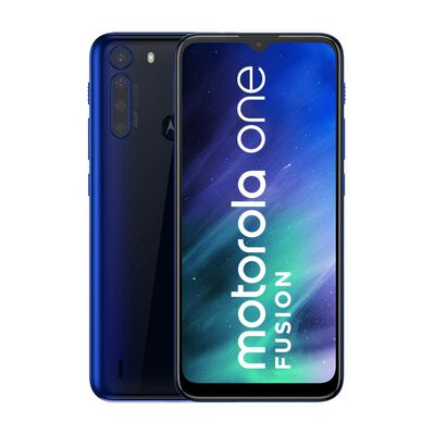 Smartphone Motorola One Fusion Azul / 128 Gb / Liberado