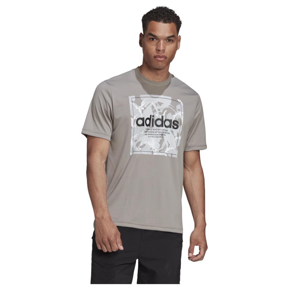 Polera Hombre Adidas Camo Box Tee image number 0.0