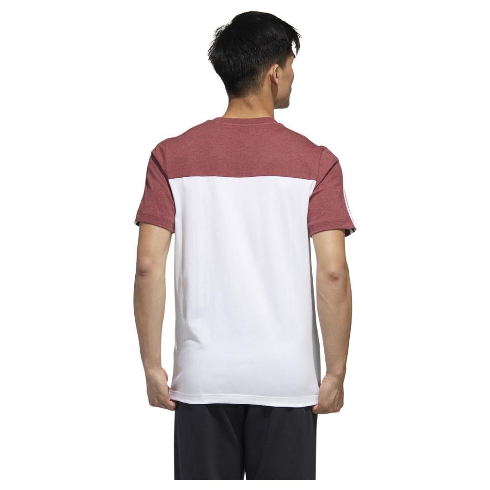Polera Hombre Adidas Camiseta Essentials Tape image number 5.0