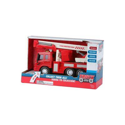 Auto De Juguete Hitoys 1:16 Friction Fire Truck