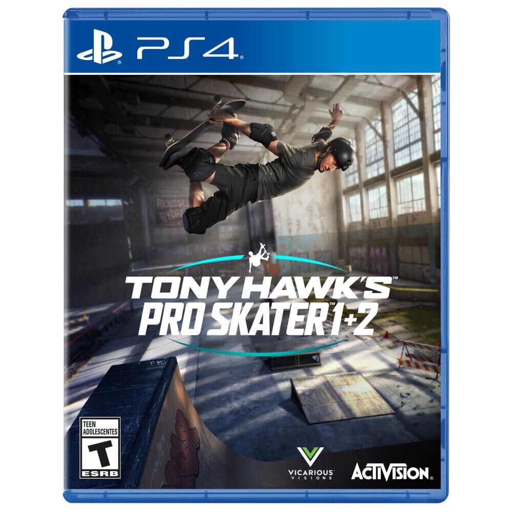 Videojuego Ps4 Sony Hawk Pro Skater 1+2 image number 0.0