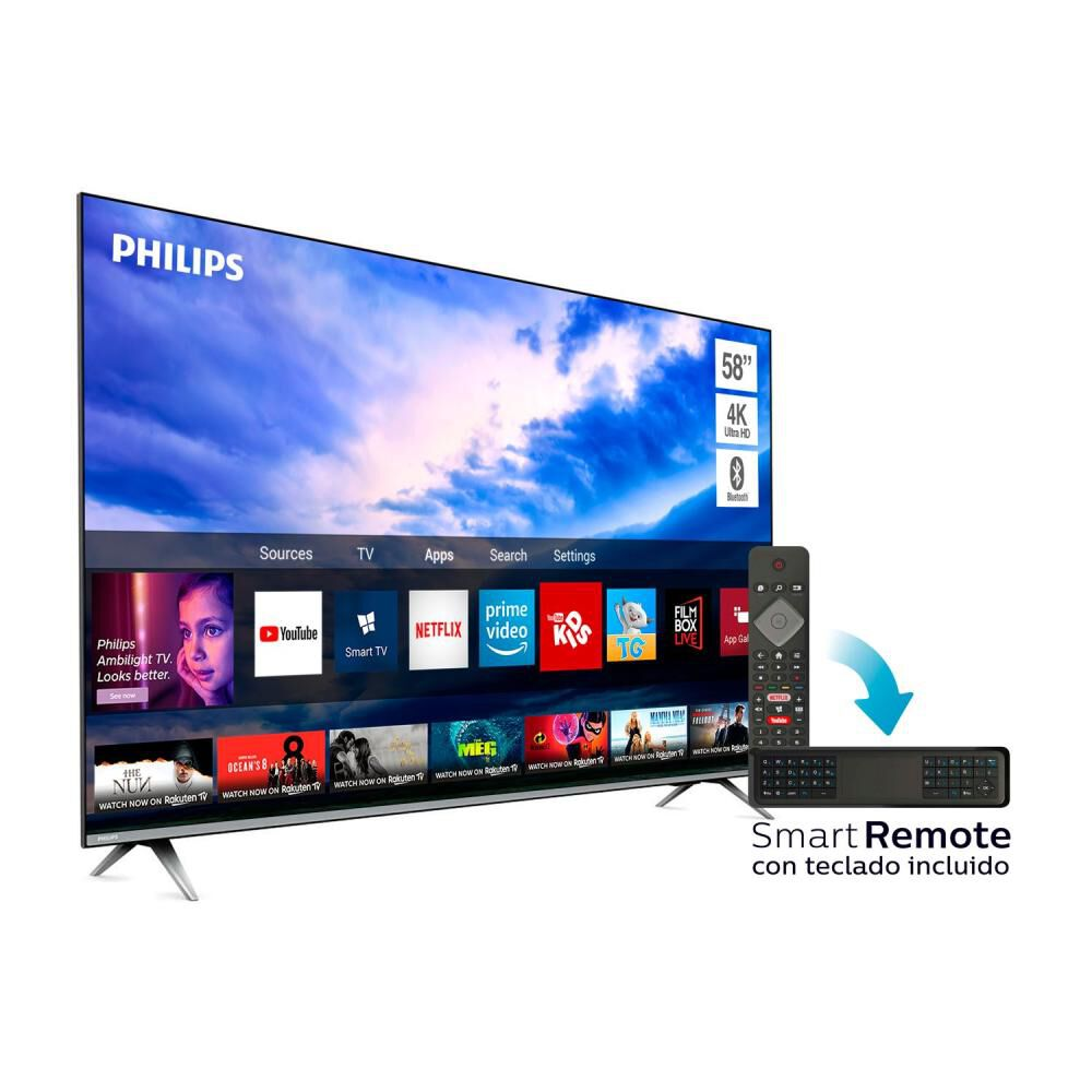 Led Philips Pud6654 / 58'' / Ultra HD 4k / Smart Tv image number 2.0
