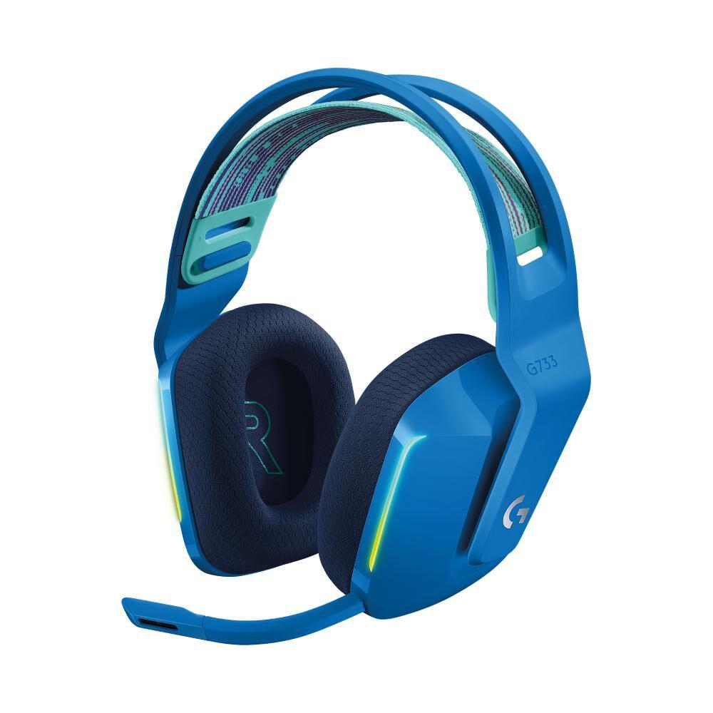 Audífonos Gamer Logitech G733 Lightspeed Rgb Blue image number 0.0