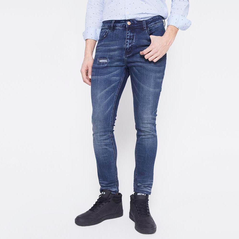 Jeans Slim  Hombre Rolly Go image number 0.0