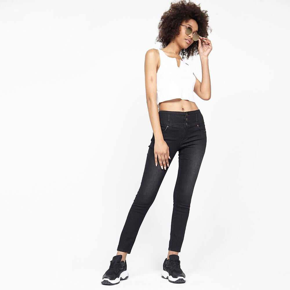 Jeans Mujer Tiro Alto Relaxed Rolly go image number 1.0