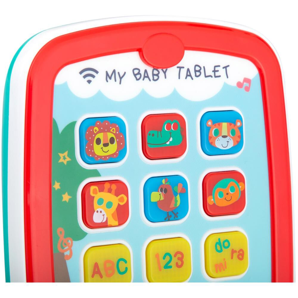 Tablet Interactiva Baby Way Bw-jp23 image number 3.0