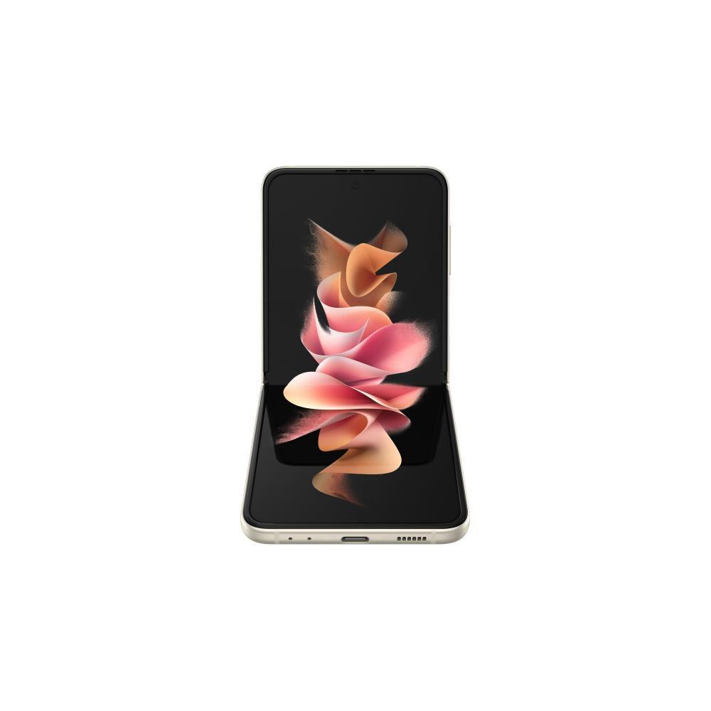 Smartphone Samsung Galaxy Z Flip 3 Crema / 128 Gb / Liberado image number 5.0