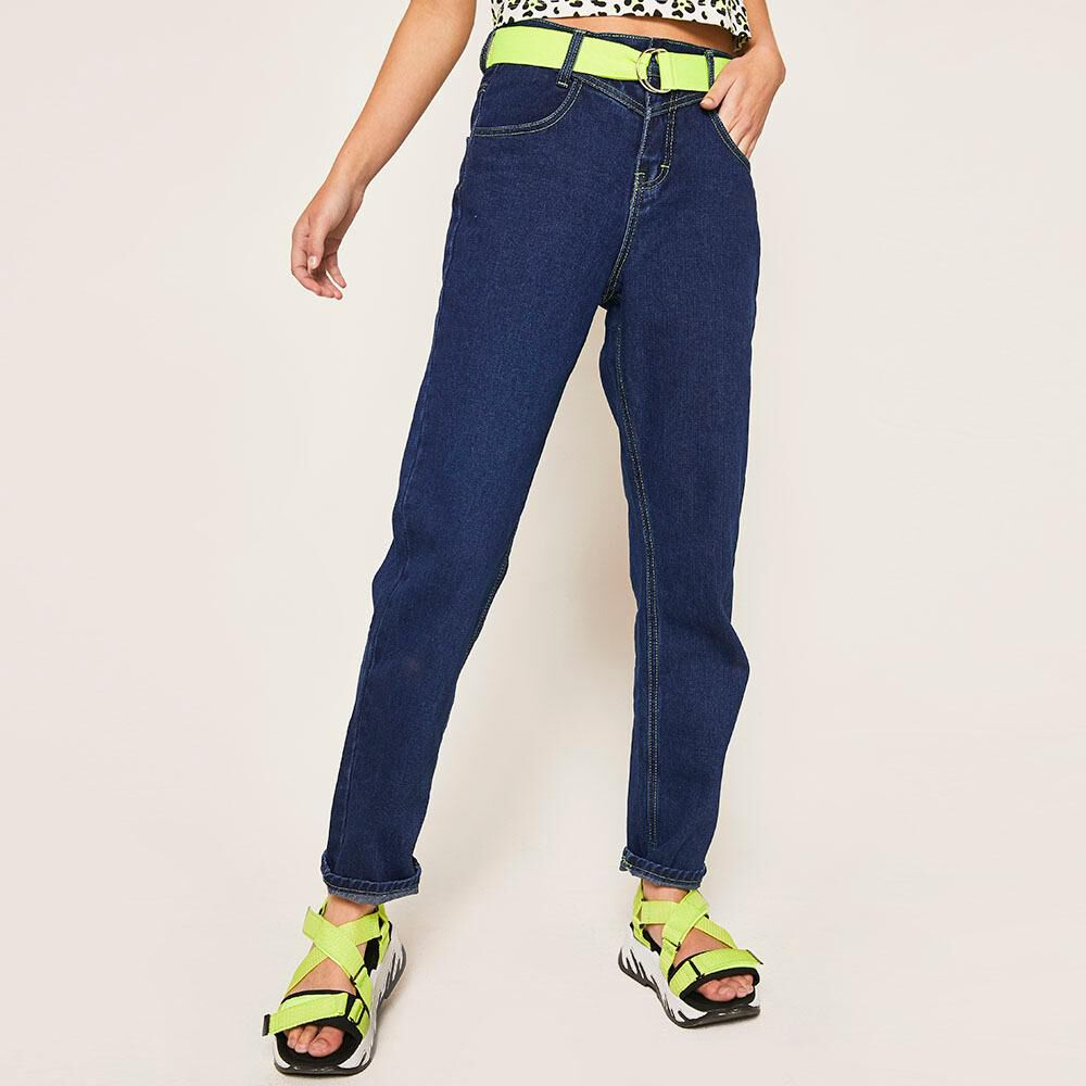 Jeans Mujer Relaxed Freedom image number 0.0