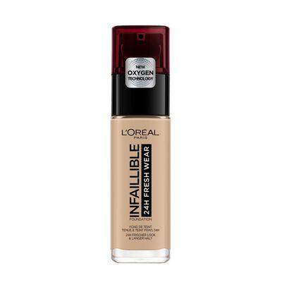Base Maquillaje L'Oreal Base Infaillible 24H  / Beige Rose