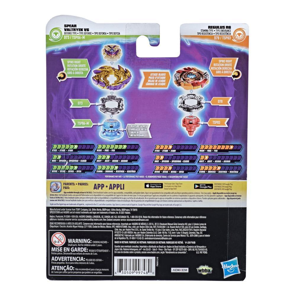 Figura Beyblades Speedstorm Dual Pack image number 1.0
