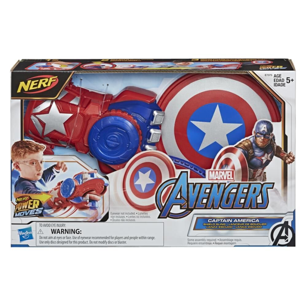 Juguete Interactivo Avenger Role Play Captain America image number 1.0