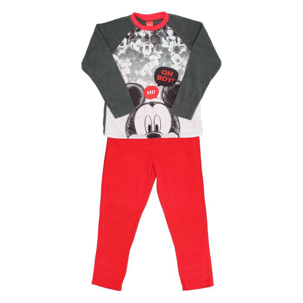 Pijama Infantil Mickey / 2 Piezas image number 0.0