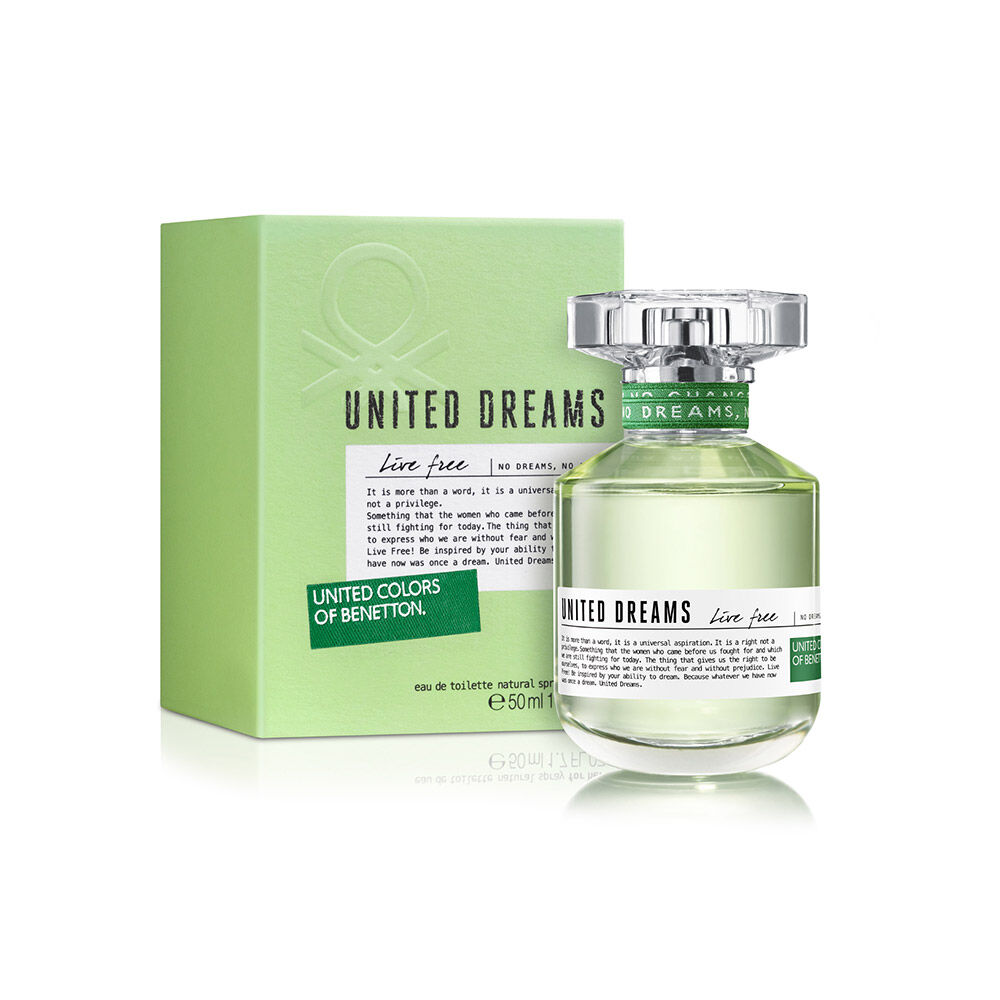 Perfume Benetton United Dreams Live Free / 50 Ml / Edt / image number 0.0
