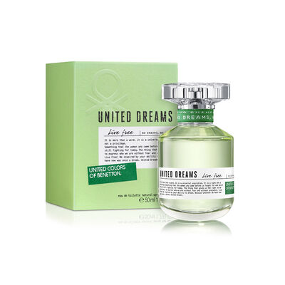 Perfume Benetton United Dreams Live Free / 50 Ml / Edt /