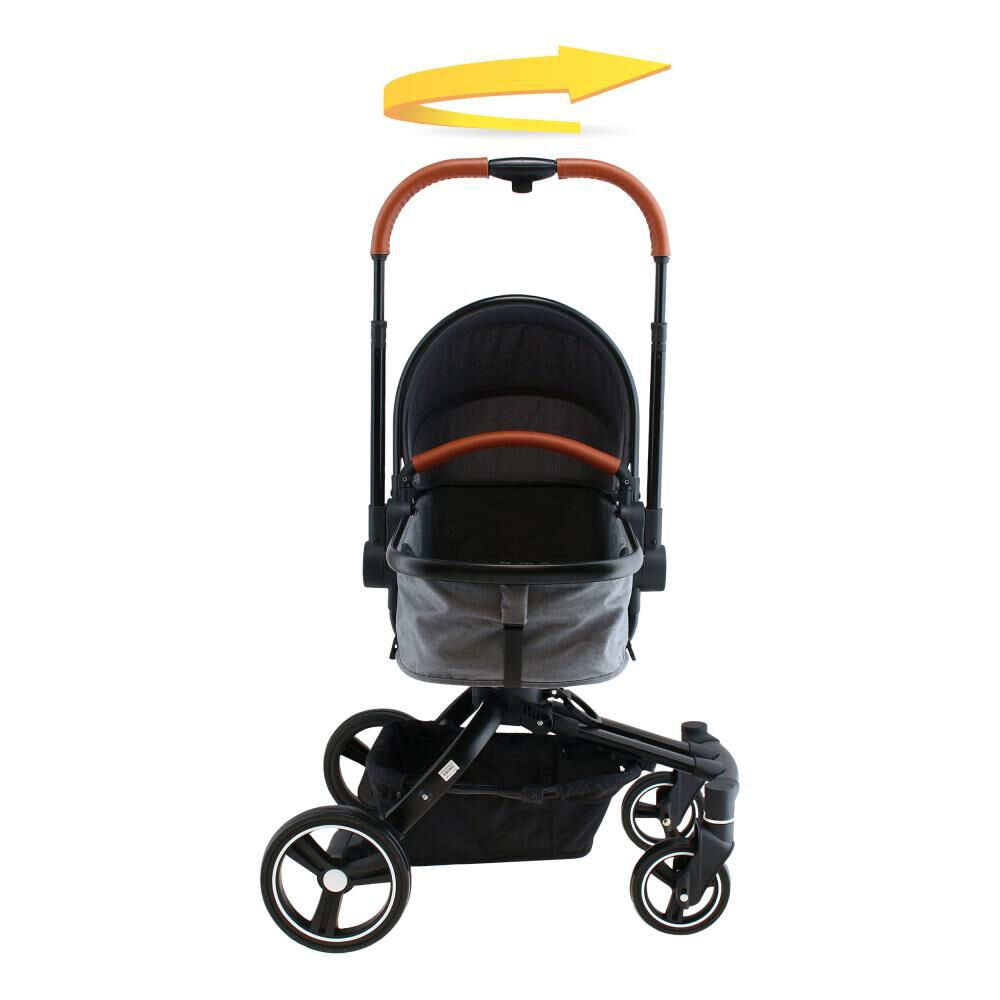 Coche Travel System Baby Way Bw-414G20 image number 6.0