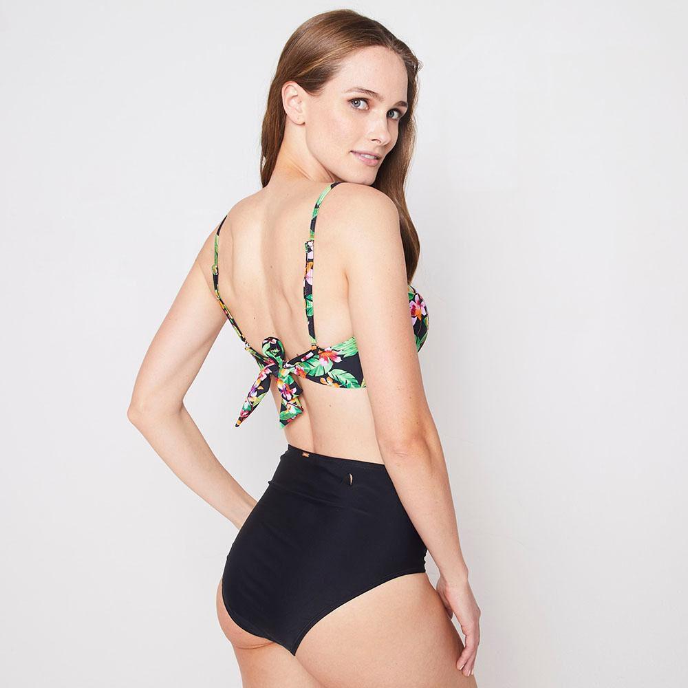 Bikini Balconett Tiro Alto Mujer Kimera image number 2.0