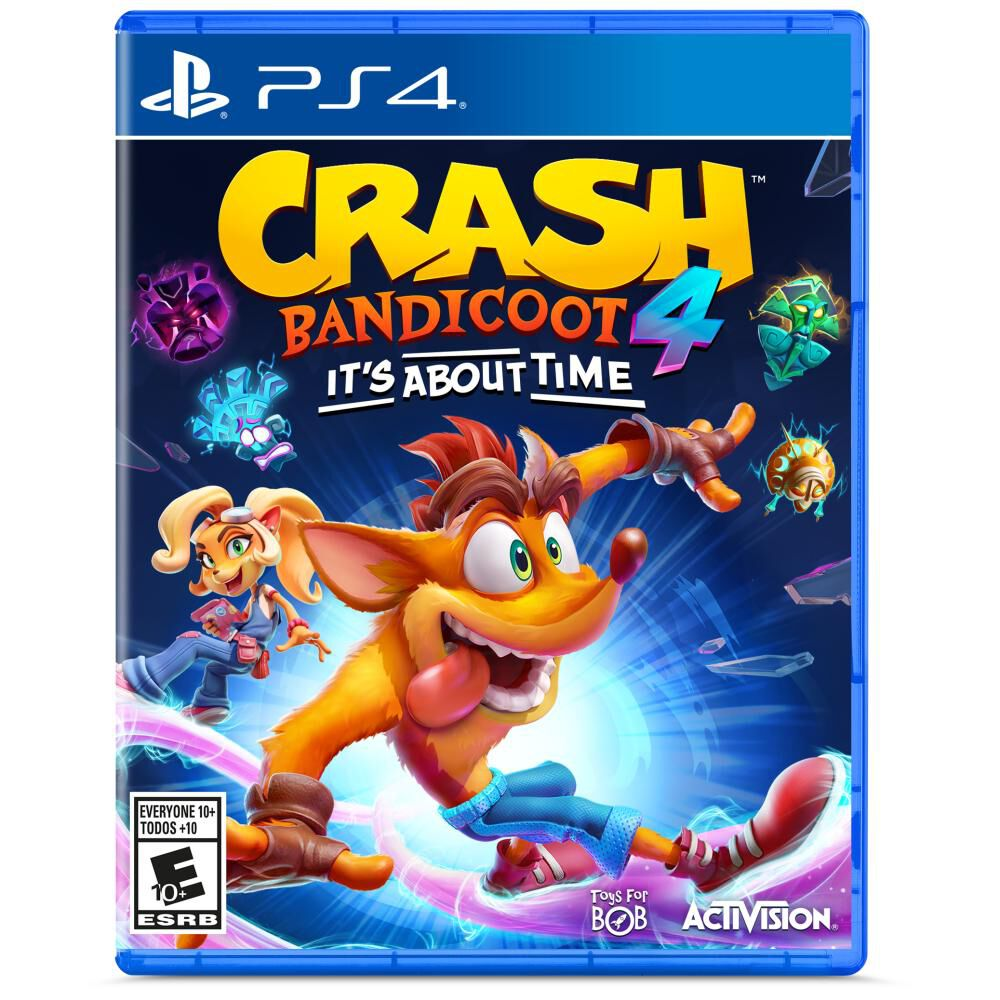 Videojuego Ps4 Crash Bandicoot 4 Its About Time image number 0.0