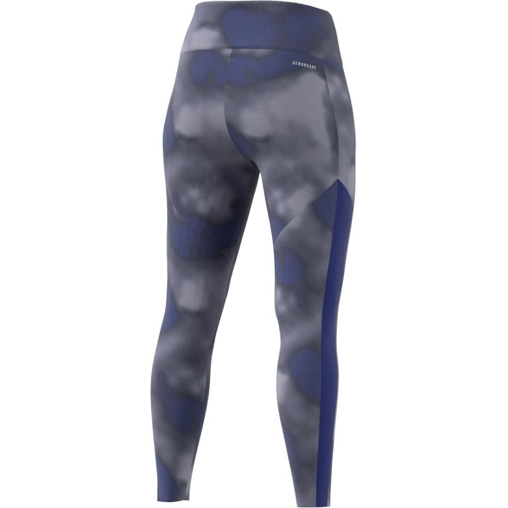 Calza Mujer Adidas Designed To Move Aop 7/8 Tight image number 6.0