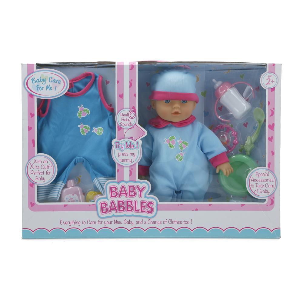 Muñeca Hitoys Baby Babbles image number 0.0