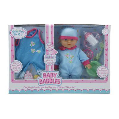 Muñeca Hitoys Baby Babbles