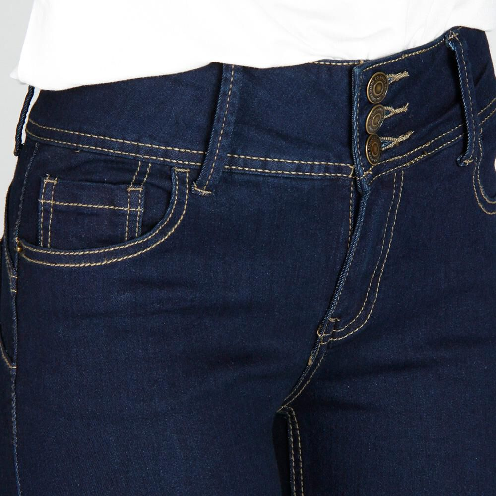 Jeans Mujer Tiro Alto Skinny Push up Geeps image number 4.0