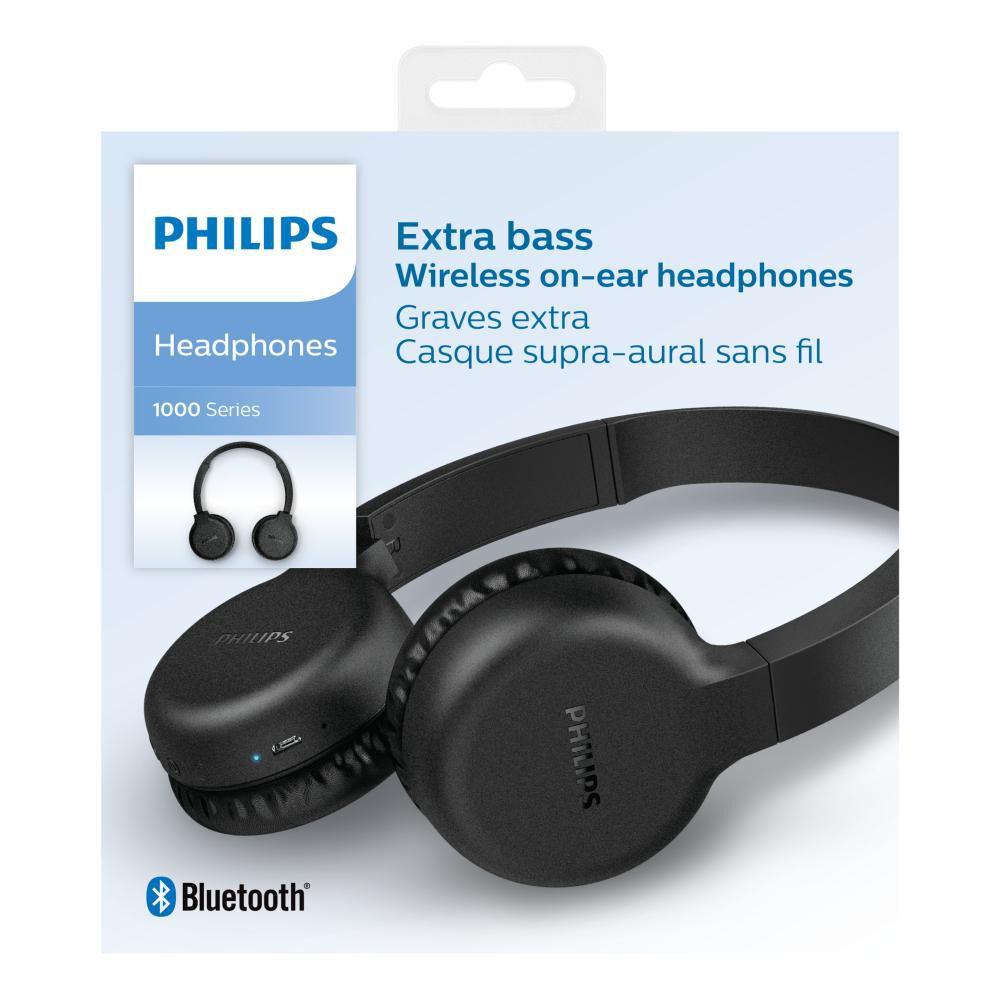 Audífonos Bluetooth Philips Tah1205bk image number 4.0