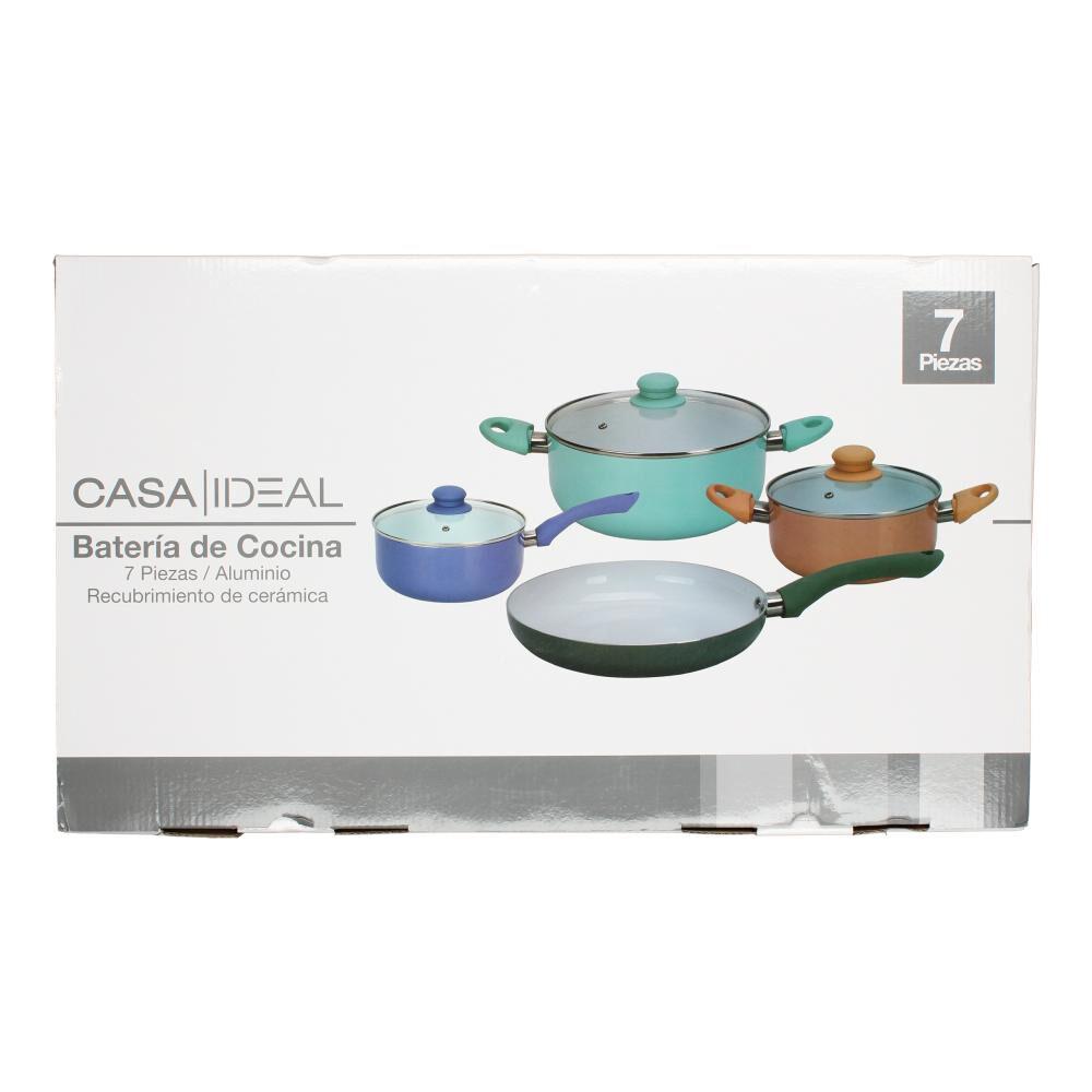 Batería De Cocina Casaideal Cera / 7 Piezas image number 1.0