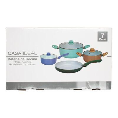 Batería De Cocina Casaideal Cera / 7 Piezas