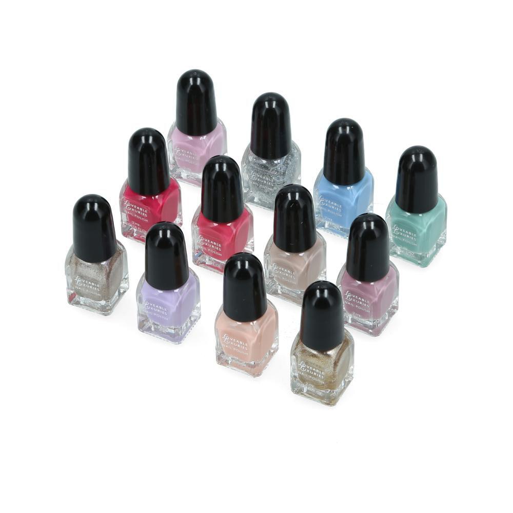 Set De Uñas Loveable Luxuries Nail Polish Shades image number 1.0