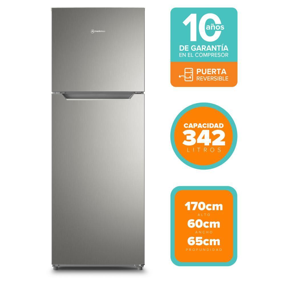 Refrigerador Top Freezer Mademsa ALTUS 1350 / No Frost / 342 Litros image number 0.0