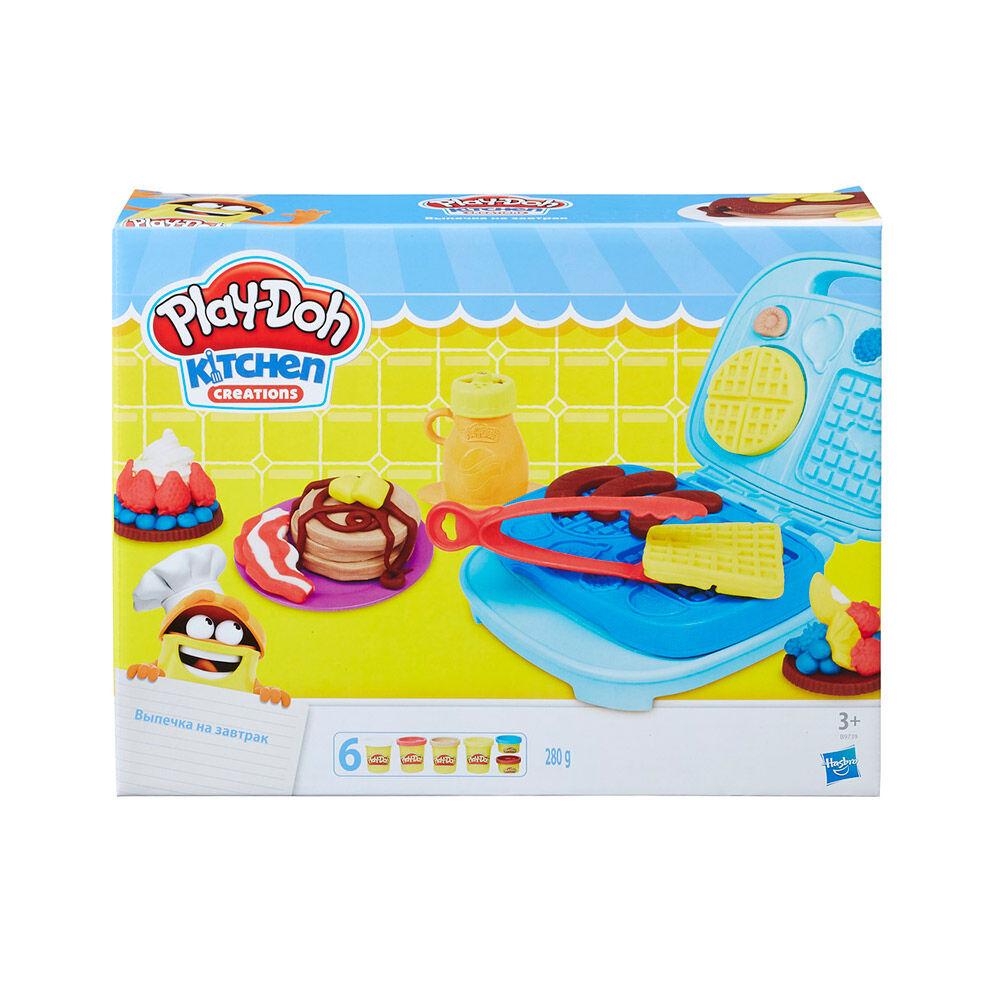 Juego Didáctico Hasbro Play-Doh Dulces Desayunos image number 0.0