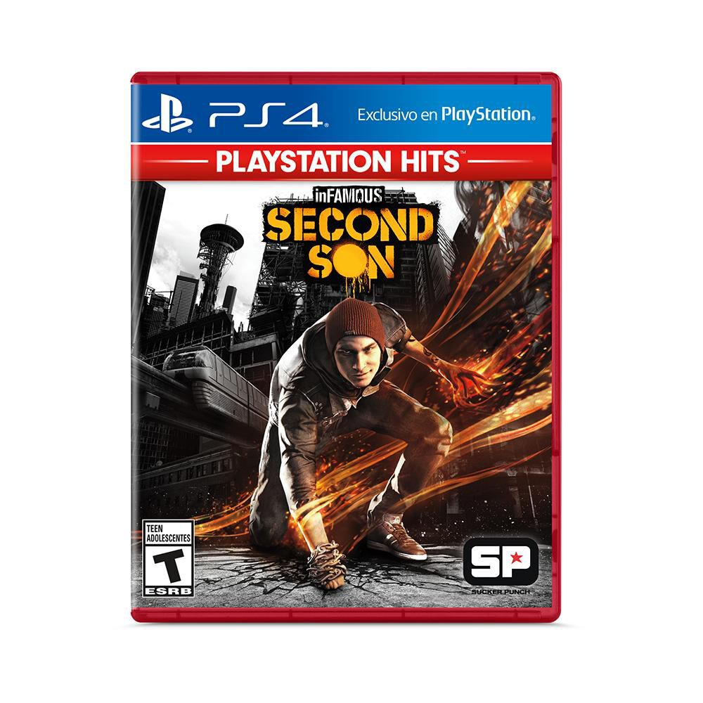 Juego Ps4 Infamous Second Son image number 0.0