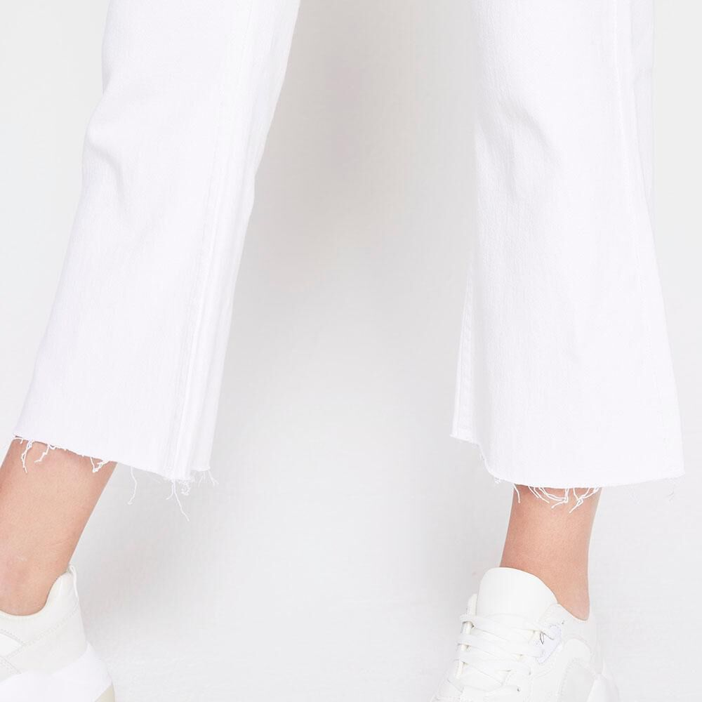 Jeans Tiro Alto Culotte Mujer Freedom image number 3.0