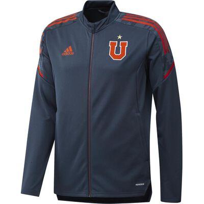 Polerón Deportivo Hombre Adidas 2021 Universidad De Chile
