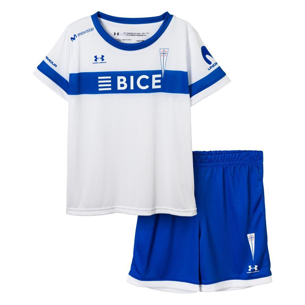 Camiseta De Futbol Niño Under Armour Universidad Católica image number 0.0