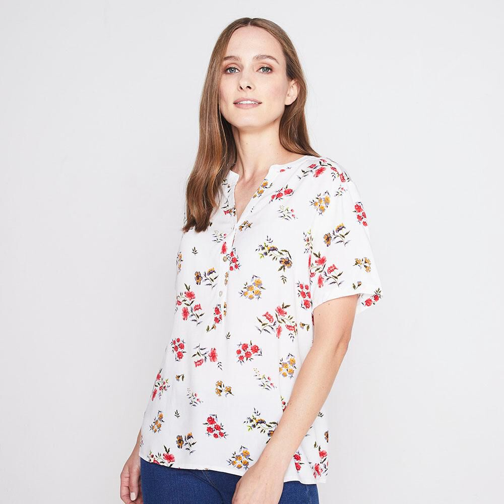 Blusa Full Print Mujer Geeps image number 0.0