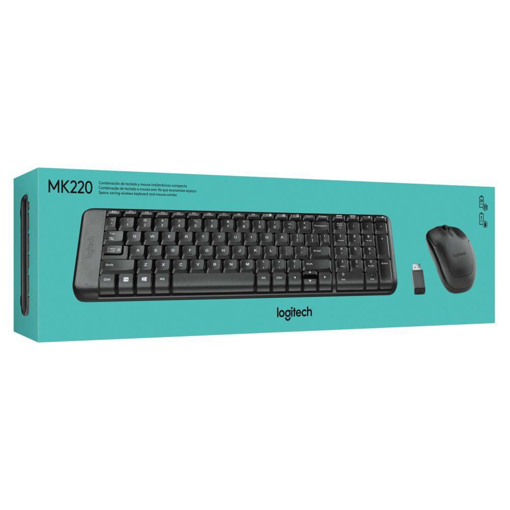 Teclado + Mouse Logitech K220 image number 3.0