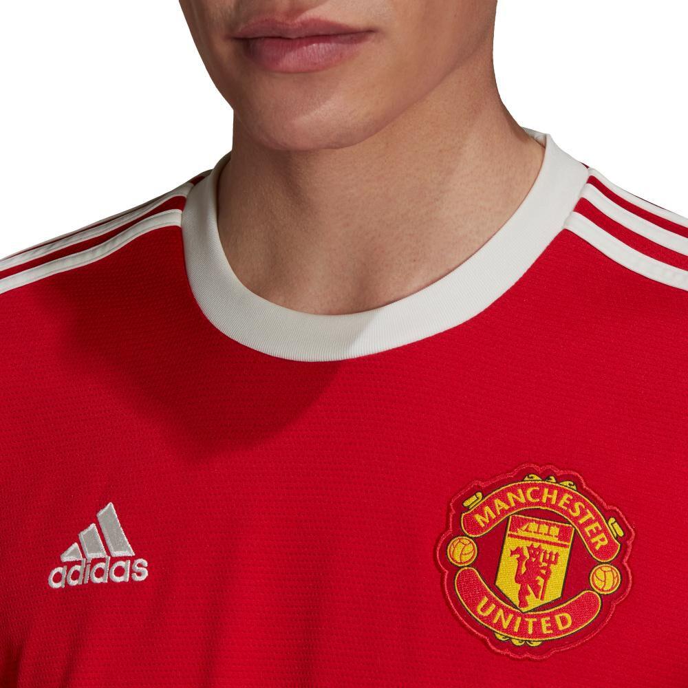 Camiseta De Fútbol Hombre Adidas Manchester United 21/22 image number 3.0