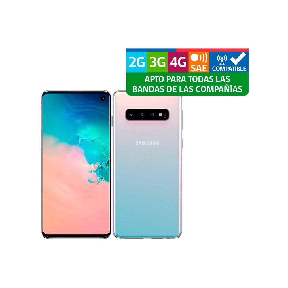 Smartphone Samsung Galaxy S10 Reacondicionado Blanco / 128 Gb / Liberado image number 2.0