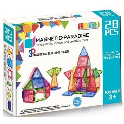 Set Armable Magnetics / 28 Piezas