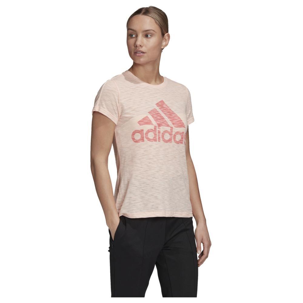 Polera Mujer Adidas W Winners Short-sleeve Crew Tee image number 6.0