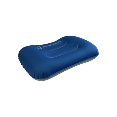 Almohada Full Compact Azul National Geographic