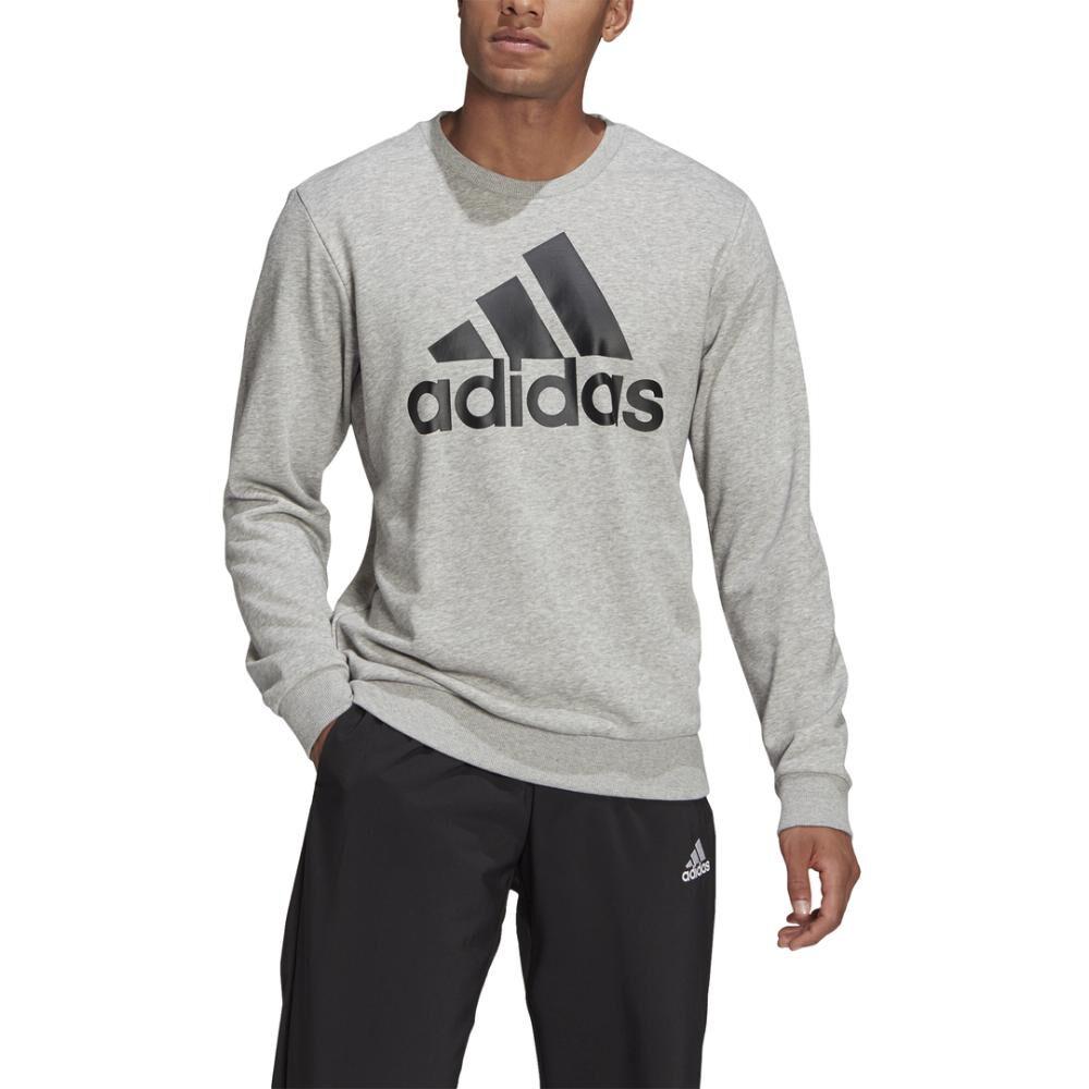 Polerón Deportivo Hombre Adidas Essentials Sweatshirt image number 7.0