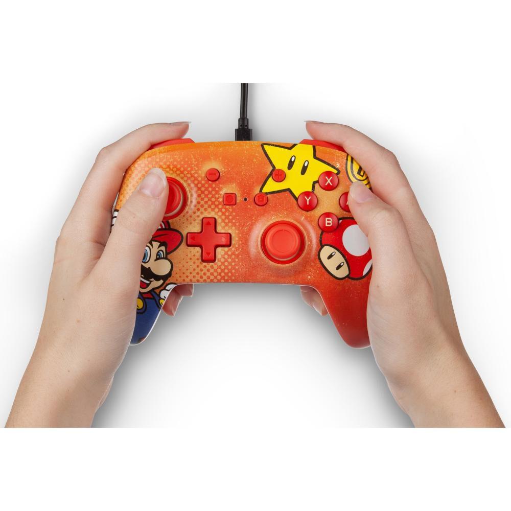 Control Nintendo Switch Nintendo Mario Vintage image number 7.0