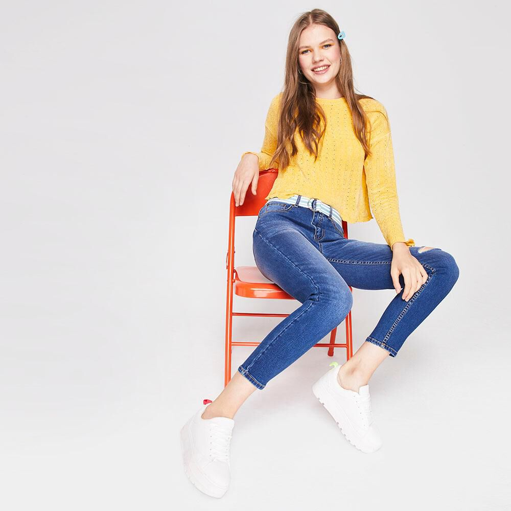 Jeans Super Skinny Mujer Freedom image number 1.0